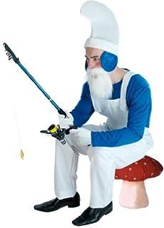 Blue Garden Gnome Adult Costume
