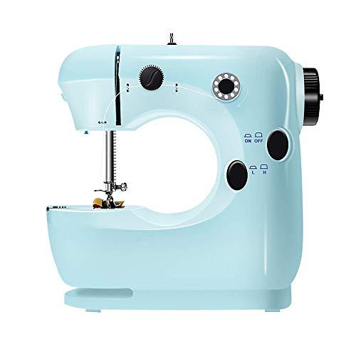 Fantastic Deal! ZUEN Household Multi-Function Electric Micro Sewing Machine, Self-Winding, Tube Seam...