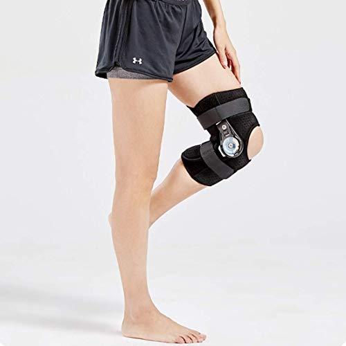 Rodilleras médicas ROM de rodilla Brace textuales, Médico inmovilizador ayuda de la rodilla ortopédica de rodilla Protector for la fractura del ligamento Relajación, lesión de menisco ( Size : Small )