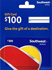 The gift that lets them fly to 85+ destinations. No fees. No expiration. Ever. Easy to redeem online at southwest.com, at 1-800-I-FLY-SWA, or at the airport. No returns and no refunds on gift cards.