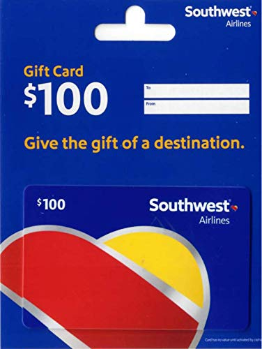Southwest Airlines Gift Card $100