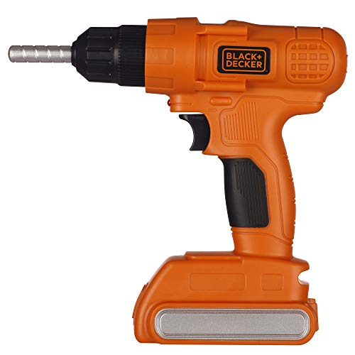 black decker electric drills BLACK+DECKER Jr. Electronic Power Drill, Boys, Kids Pretend Play Tool with Realistic Light, Sound & Action!