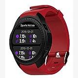 Momorain L1 Smartwatch Telefon 1.3inch Runde HD IPS Display-Kamera Herzfrequenz Schlafmonitor Remote Camera Blutdruck
