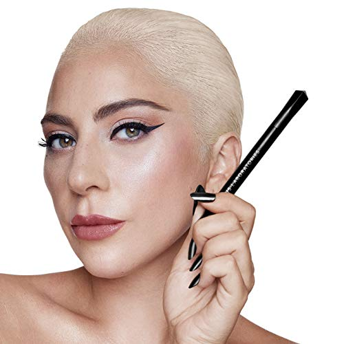 HAUS LABORATORIES By Lady Gaga: LIQUID EYE-LIE-NER | Flüssiger Eyeliner-Make-Up-Stift, Mattschwarz...