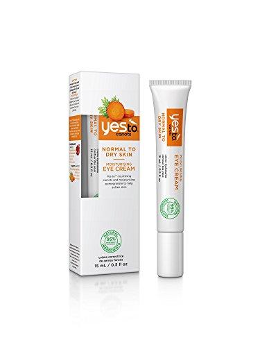 Yes To Carrots Crème Hydratante Contour des Yeux Carotte 15 ml