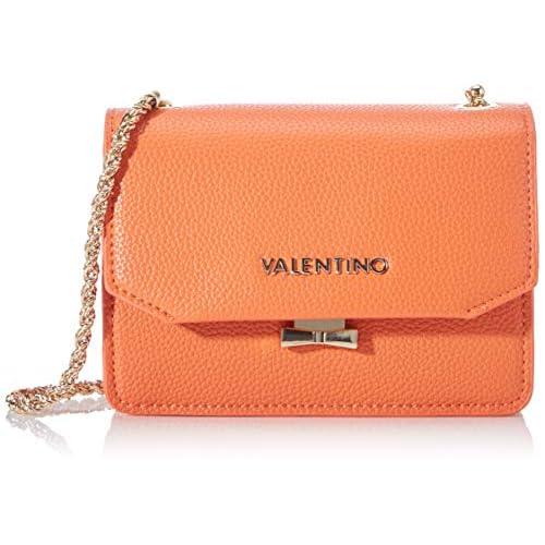 Valentino by Mario Sfinge - Borse a tracolla Donna, Arancione (Arancio), 8x17.5x27 cm (B x H T)