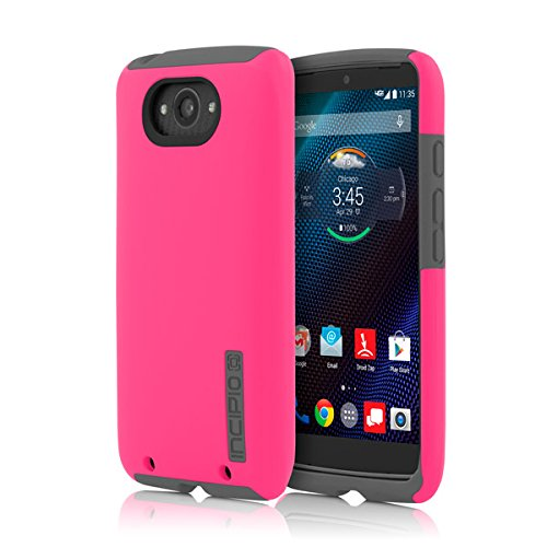 Incipio DualPro for Motorola Droid Turbo - Pink/Gray