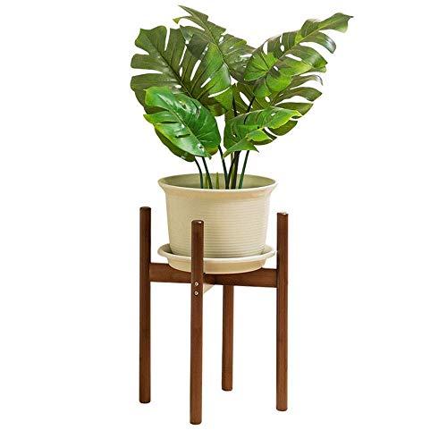 ASDAD Plant Stand Houten Plant Pot Houder - Moderne Planter Decor Houders Binnen - Woonkamer Open Haard - Stand Voor Planten/Bloemen 11.8 Inch Pot Decoratieve Floor Display