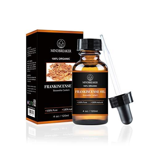 Huile essentielle d'encens Mindbreaker, 100% pure et naturelle, huile d'encens de qualité supérieure, 4 fl. Oz (120 ml)