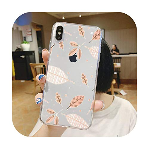 Bling amor moda diseño patrón teléfono caso transparente suave para iphone 5 5s 5c se 6 6s 7 8 11 12 plus mini x xs xr pro max-a11-para iphone 11 pro