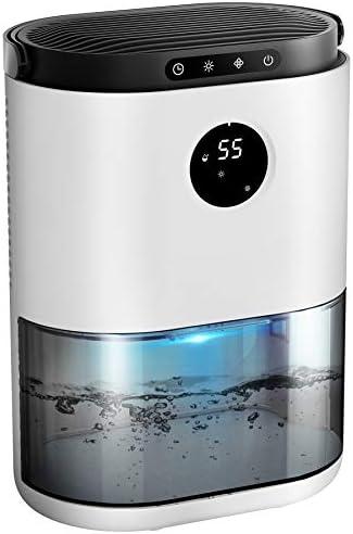 Dehumidifier KLOUDIC 77 5oz Small Dehumidifier Humidity Display Electric Dehumidifier for 4500 product image