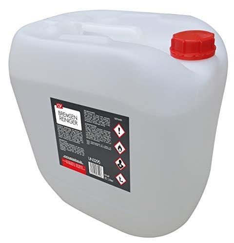 SDV Chemie Bremsenreiniger 10L Schnellentfetter Teilereiniger Montagereiniger 10 Liter