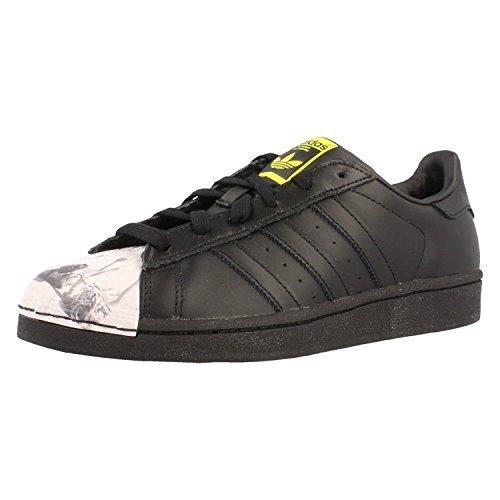 Adidas Originals Superstar Pharrell Williams Damen Sneaker, Schuhgröße:EUR 37 1/3;Farbe:schwarz