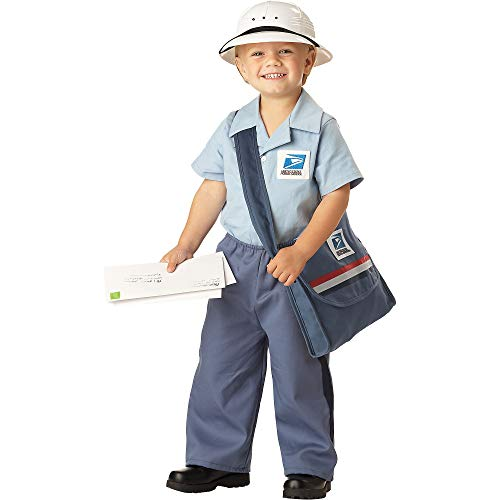 Toddler Postman Costume Blue