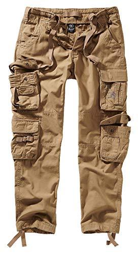 Brandit Pure Slim Fit Trouser - Beige - L