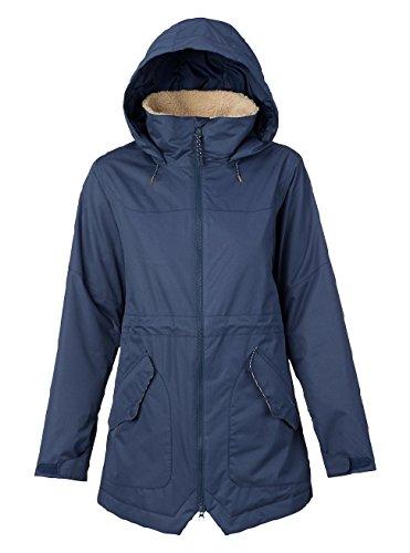 Burton Damen Prowess Jacket Snowboardjacke, Mood Indigo, L