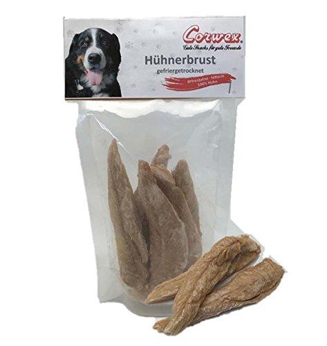 Corwex Hundesnack Hühnerbrust gefriergetrocknet (12 x 50g)