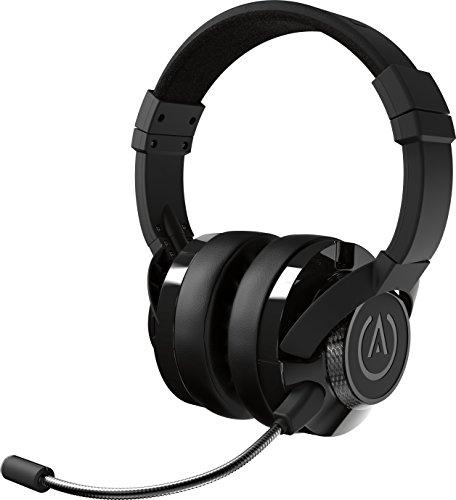 PowerA Fusion Auriculares Gaming con Micrófono Desmontable y Cable - Compatibles con PlayStation 4, Xbox (One, One X, One S, 360), Nintendo Switch, Mac, Android, IOS - Negro