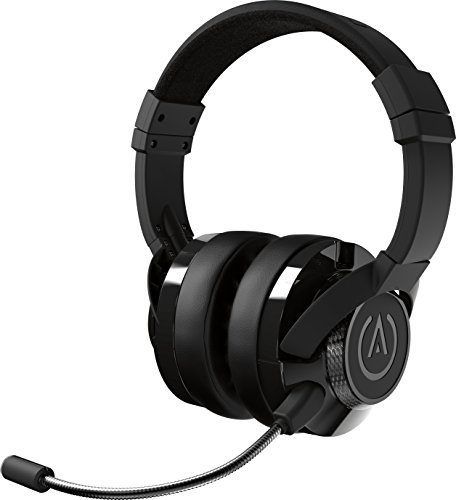 PowerA Fusion Casque Gamer Filaire avec Microphone Amovible - Compatible avec PlayStation 4, Xbox (One, One X, One S, 360), Nintendo Switch, Mac PC, Android , iOS - Noir
