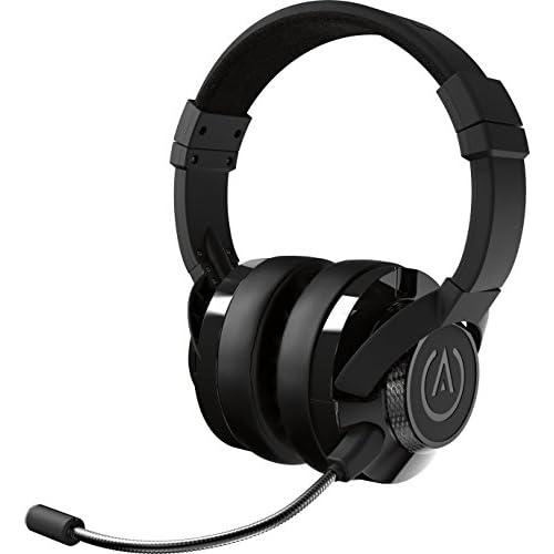 PowerA Fusion Cuffie da Gioco Cablate con Microfono Staccabile - Compatibili con PlayStation 4, Xbox (One, One X, One S, 360), Nintendo Switch, Mac, Android, IOS, Nero