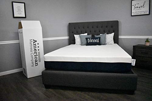 """10"""" American Made Graphite Infused Memory Foam Mattress: CertiPUR Certified: American Mattress Company (King)"""