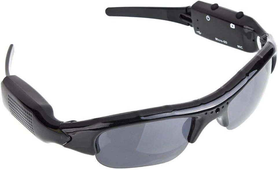 BenRan Sunglasses Camera Eyewear Recorder Camera Glasses for Outdoor Activities Built in 200mAh Battery PC Camera HD 1080P