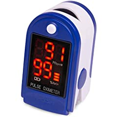 10 SECOND PULSE & OXYGEN METER CHECK. The Roscoe Medical Pulse Oximeter Fingertip is a compact heart rate monitor and oxygen monitor that checks pulse rate & blood oxygen saturation levels (SpO2) quickly & accurately GREAT FOR PHYSICALLY ACTIVE PEOPL...