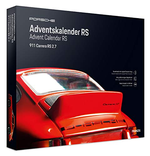 FRANZIS Porsche Carrera RS Adventskalender 2020