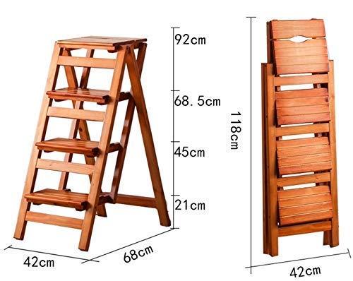 STOOL Asiento pequeño, taburete de zapatos, taburete de bar, taburete de comedor, taburete de restaurante, escalera de mano, silla, mesas y sillas, escalera plegable para el hogar Escalera de 4 capas