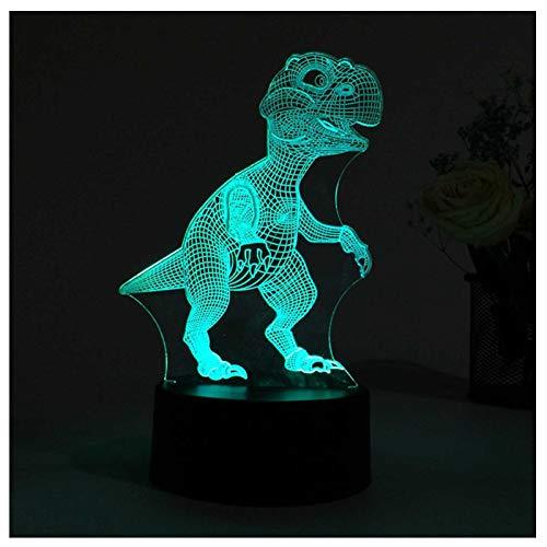 DM&F Kreative 3D Kinder Nachtlicht, Wiederaufladbare Nachtlicht, Kinder Erwachsene Tragbare Nachtlicht Schlafzimmer Nachttischlampe