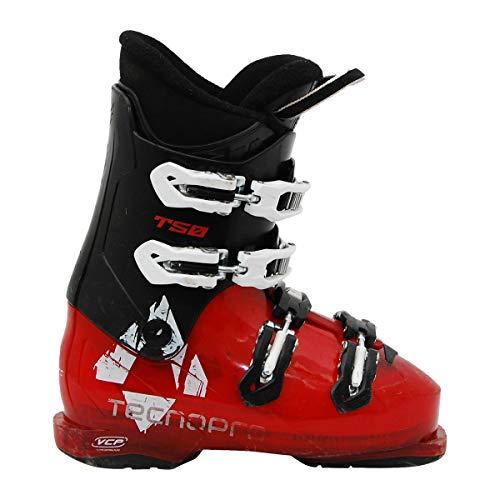 TECNOPRO Junior gebraucht Skischuh Tecno pro T50 schwarz rot
