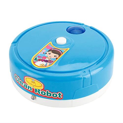 Domybest Robot Aspirapolvere Giocattolo Mini Aspirapolvere Giocattolo Bambini con Luci e Musica