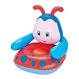 Bestway Hinchable de Kid 's Silla Mariquita, Rojo/Azul