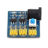 Buck Converter Step-Down Modul, 12V hasta 3.3V / 5V / 12V DC-DC-Multi-Output Transformador