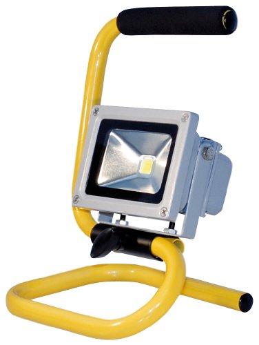 Transmedia LLS1L Projecteur LED 230 V 10 W Blanc Froid