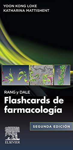 Rang y Dale. Flashcards de Farmacología (Spanish Edition)