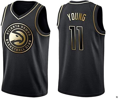 Zxwzzz Equipo De La NBA De Baloncesto Hawks Bordado Uniforme No.11 Joven Deportes De Los Hombres Jersey De Baloncesto Camiseta (Color : E 11, Size : Medium)