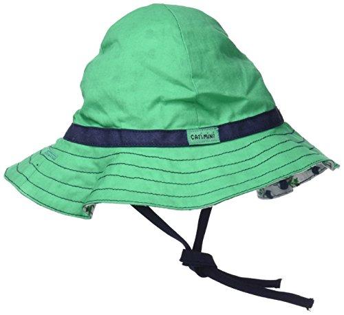 Catimini Chapeau Revers Gorra, Verde (Vert Moyen), Medium (Tallas De Fabricante: 46CM) para Bebés