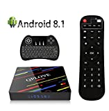 Android 8.1 TV Box, QPLOVE 2GB RAM + 16GB ROM Smart Box TV con RK3328...