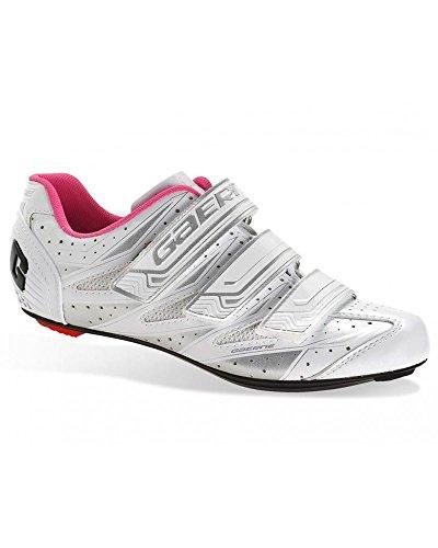 Gaerne G.Aurora - Zapatillas de Ciclismo para Mujer, Color Blanco, Talla 39