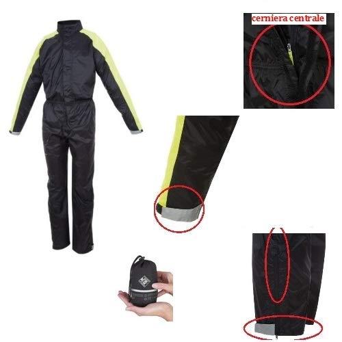 Survêtement Complet en Nylon Tucano Urbano 768 survêtement Nano Plus imperméable Noir Taille Taille XL