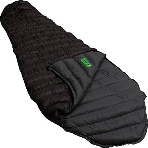 Lowland Outdoor® - dons rubberen slaapzak - ultra compact XL - 230x85 cm - nylon 8 ° C - 460 g