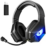 Best Ps4 Wireless Headsets - EasySMX L1 Wireless Gaming Headset for PC PS4 Review