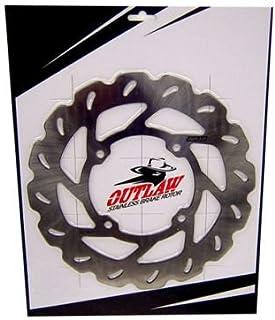 Outlaw Racing OR1502646S Steel Rear Sprocket-46T Yamaha YZ80 76-01 YZ85 02-15