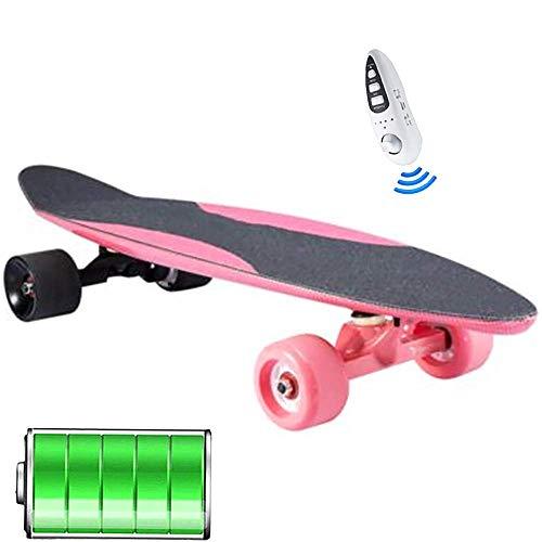 LXY Motorized Cruise Longboard, Electric Caster Board, Electric Longboard Skateboard, komplettes elektrisches Skateboard für Anfänger und Urban Pendler, 1 (Farbe: 1)