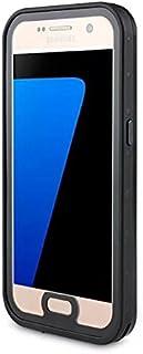 Samsung Galaxy S7 シェル, Mrstar 新しい [ 重い 義務 ] プレミアム 戦術 グリップ 防塵の 耐衝撃性 硬い 緩衝器 [軍隊 弁護者 ] フル ボディー ポーチ 頑丈な カバー の Samsung Galaxy S7 (Black)