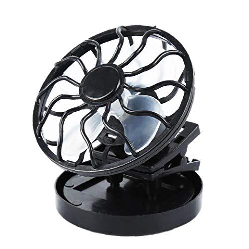 Fivesix Clip en Mini Ventilador del Escritorio portátil Cochecito Ventilador accionado Solar del Ventilador para Las Fuentes del Ministerio del Interior Que acampa Solar