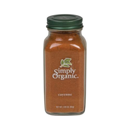 Simply Organic Pepper Seasonal Wrap Introduction Cayenne Pack NEW of 2.89 6