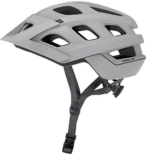 IXS Trail XC Evo Fahrradhelm, Unisex, Grey, Large