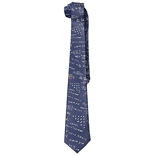 LoveBiuBiu Men's Math Formula Novelty Necktie Tie Choker